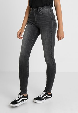 VMSOPHIA  - Jeansy Skinny Fit - dark grey denim