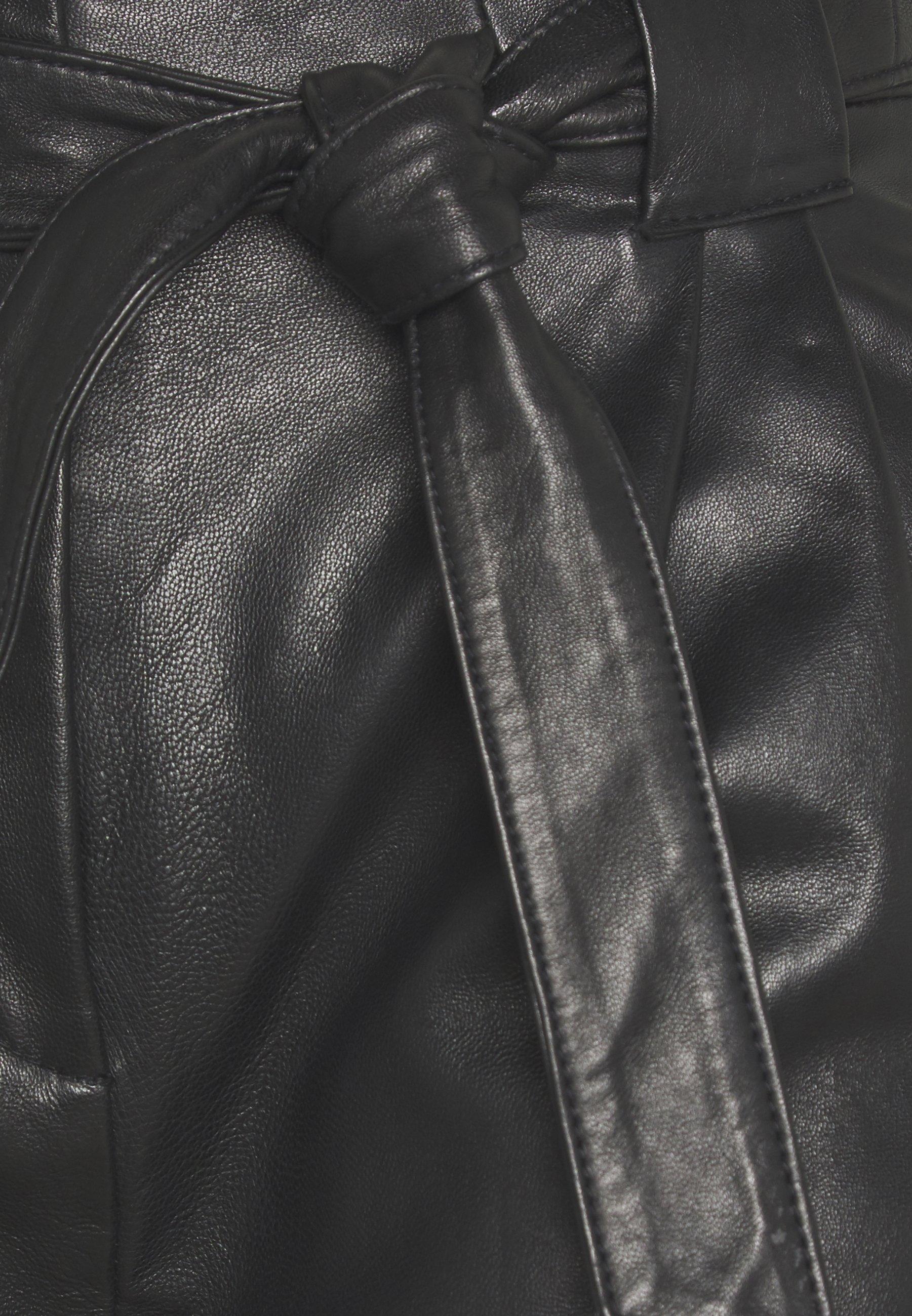 SAGO TROUSERS Skinnbukser black