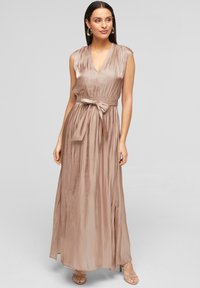 s.Oliver BLACK LABEL - Maxi dress - beige - 0
