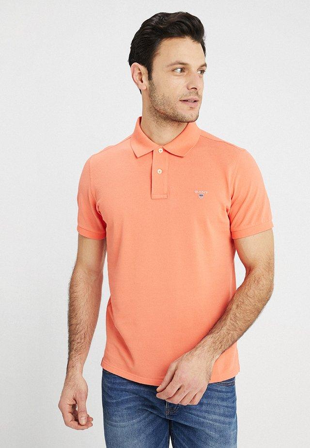 THE ORIGINAL RUGGER - Polo - coral/orange
