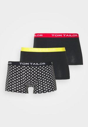 3 PACK - Underkläder - black/dark
