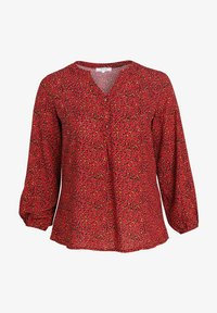 Paprika - MIT TIERFELL-DRUCK - Blouse - red - 4