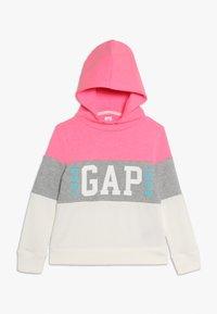 GAP - GIRL FAMILY LOGO - Felpa con cappuccio - neon pink/rose - 0