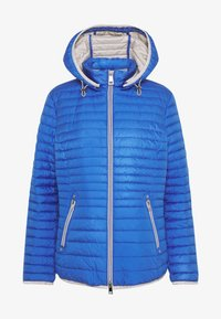 Barbara Lebek - STEPP MIT KAPUZE - Light jacket - cornflower blue - 4
