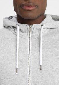 Solid - MORGAN ZIP - veste en sweat zippée - light grey - 3