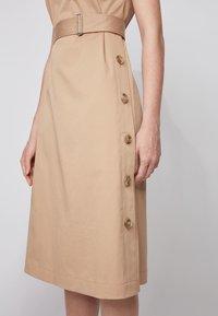BOSS - DOMATO - Day dress - beige - 3