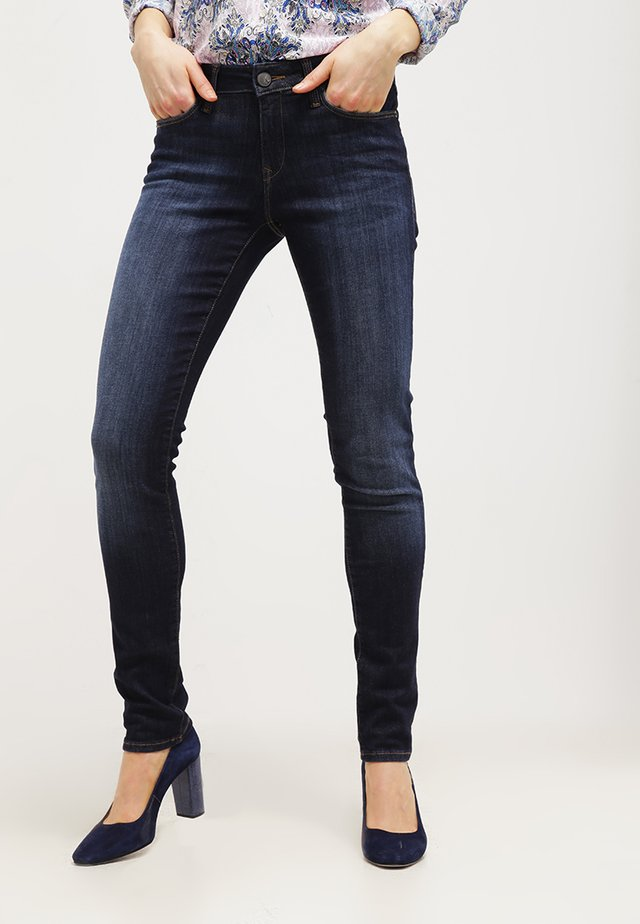 UPTOWN NICOLE - Jeans Skinny Fit - rinse brush dream comfort