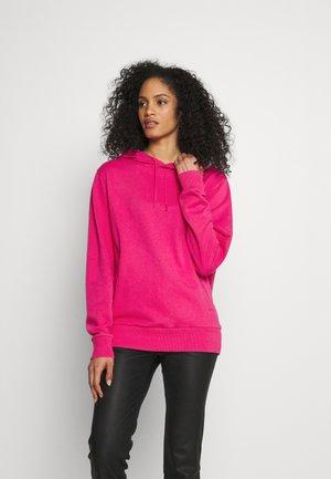 Kapuzenpullover - bright pink