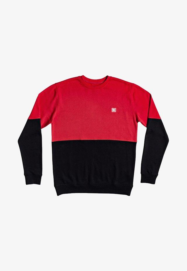 REBEL - Sweatshirt - racing red