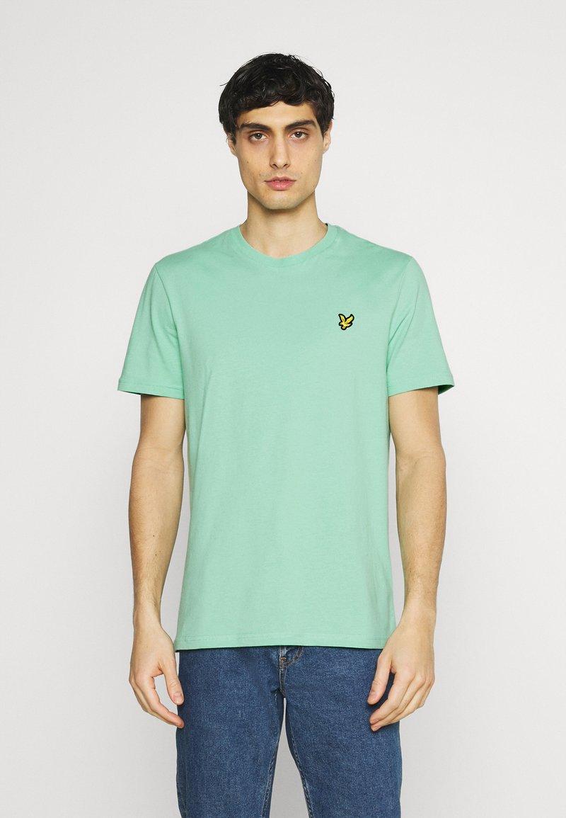 Lyle & Scott - PLAIN - T-shirt - bas - sea mint