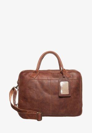 FAIRBANKS - Laptop bag - cognac