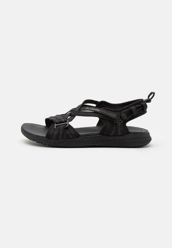 Walking sandals - black/ti grey steel