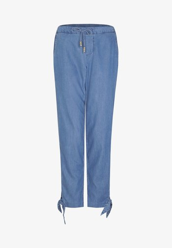 Straight leg jeans - blue non stretched