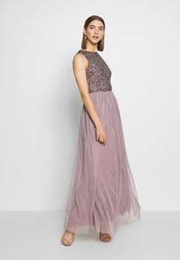 Lace & Beads - PICASSO MAXI - Occasion wear - purple - 0