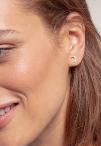 THOMAS SABO - MOND - Earrings - white/silver-coloured - 1