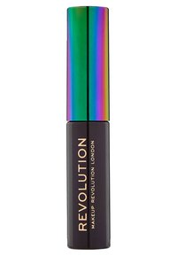 Make up Revolution - HIGH BROW GEL WITH CANNABIS SATIVA - Żel do brwi - dark brown