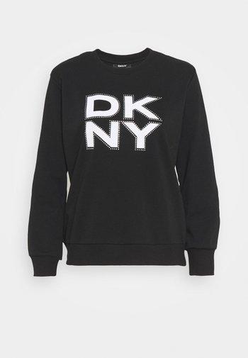 STACKED LOGO  - Sweatshirt - black