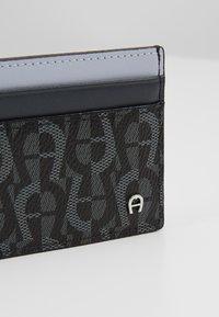 Aigner - CARD CASE - Monedero - black - 2