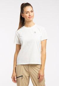 Haglöfs - Print T-shirt - soft white - 0