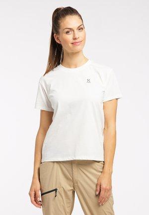 Print T-shirt - soft white