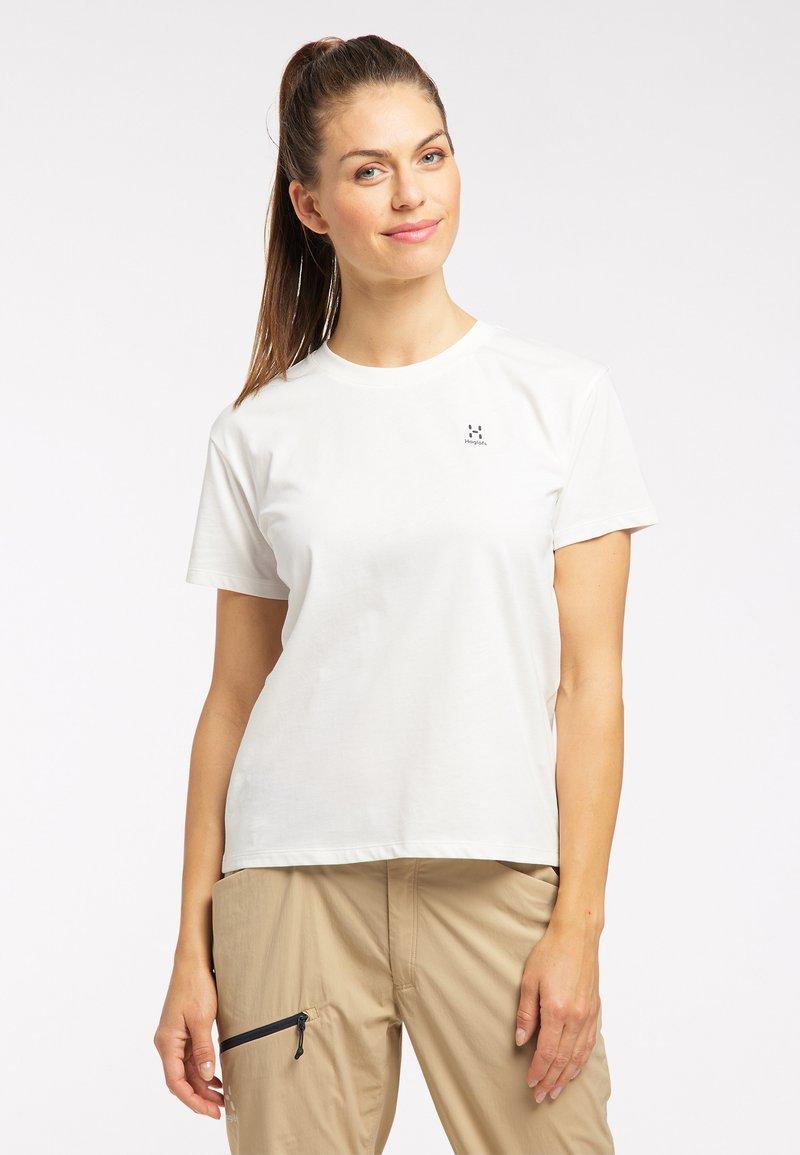 Haglöfs - Print T-shirt - soft white