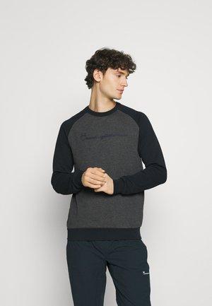 ELM RAGLAN - Sweatshirt - dark grey melange