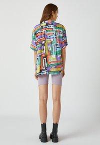 PULL&BEAR - Button-down blouse - multi-coloured - 2