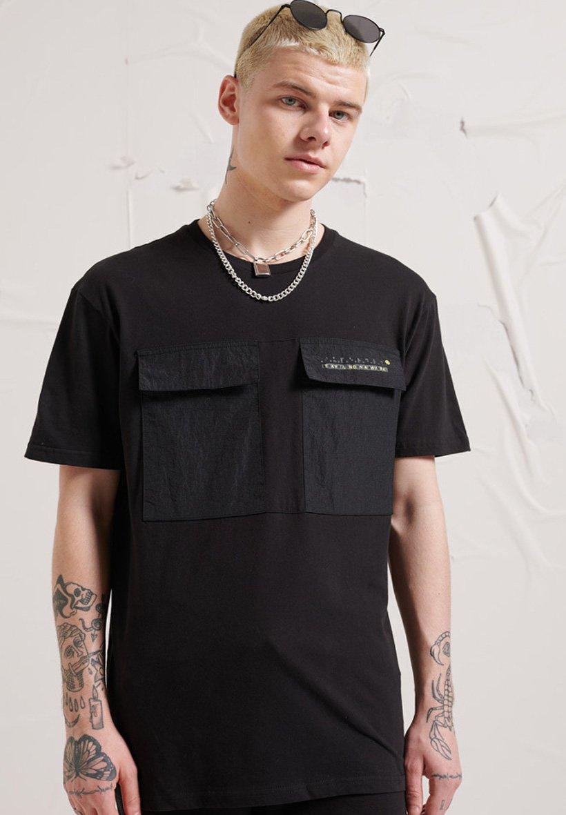 Herren TECH CODE POCKET - T-Shirt print