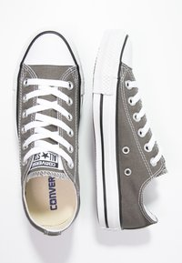 Converse - CHUCK TAYLOR ALL STAR OX - Matalavartiset tennarit - charcoal - 1