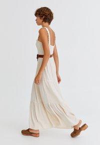 PULL&BEAR - Maxi dress - mottled beige - 2
