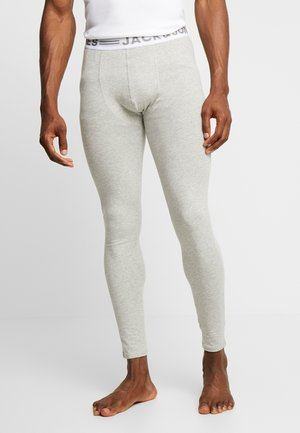 JACSOLID LONG JOHNS - Långkalsonger - light grey melange