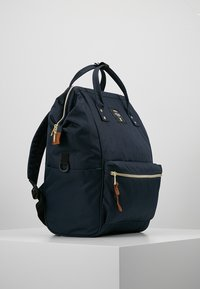 anello - BACKPACK COLOR BLOCK LARGE UNISEX - Batoh - navy - 3