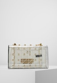 ZAC Zac Posen - EARTHETTE CHAIN SHOULDER QUILTED PEARL LADY - Handtasche - clear - 2
