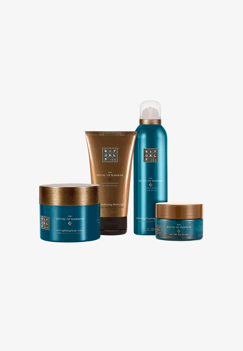 Rituals - THE RITUAL OF HAMMAM - PURIFYING COLLECTION L - Bath and body set - -