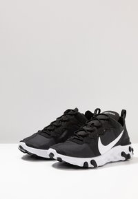 Nike Sportswear - REACT 55 - Sneakers - black/white - 6