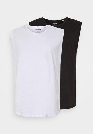JORBASIC TANK 2 PACK  - Top - white/black