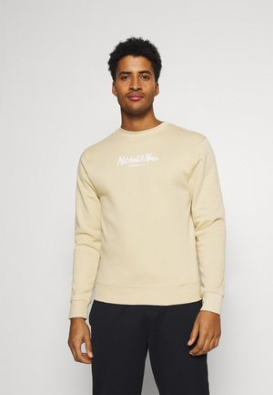 PINSCRIPT CREW - Sweater - tan