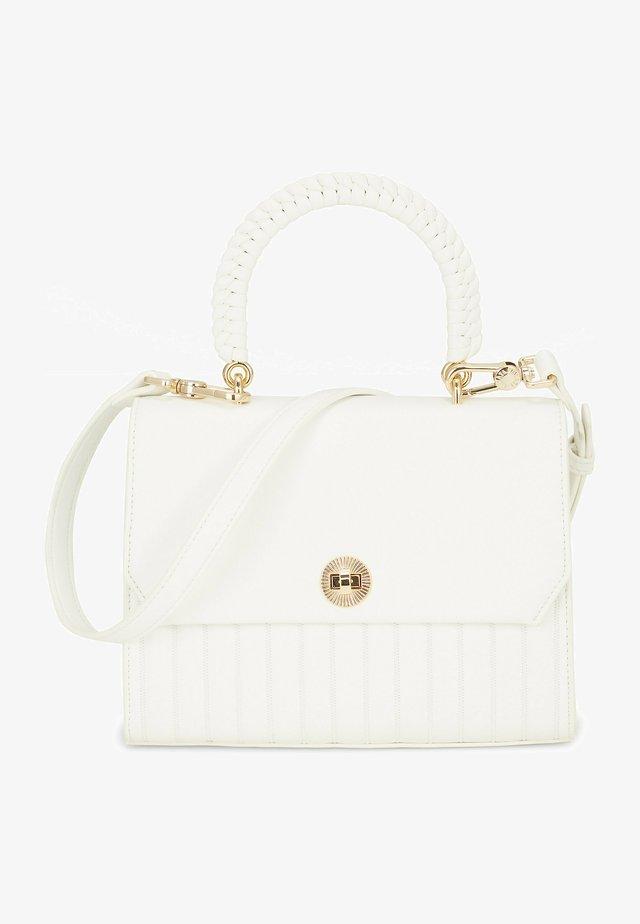 GESINE - Handbag - white