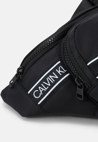 Calvin Klein Jeans - INSTITUTIONAL LOGO WAISTPACK - Bum bag - black - 3
