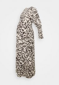 Glamorous Bloom - WRAP DRESS WITH TIE DETAIL - Maxi dress - cream brown abstract - 4