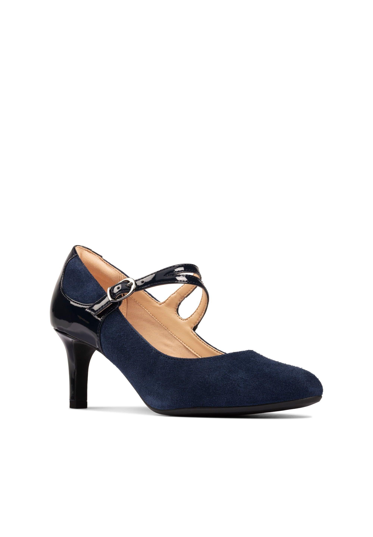 Clarks DANCER REECE - Escarpins - dunkelblaues leder - Chaussures à talons femme Pas cher