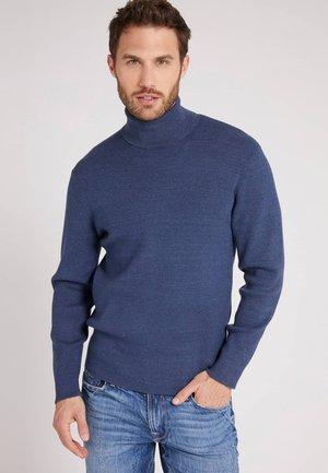 HOHER KRAGEN - Sweatshirt - blau