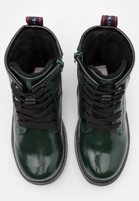 TOM TAILOR - Lace-up ankle boots - green - 1