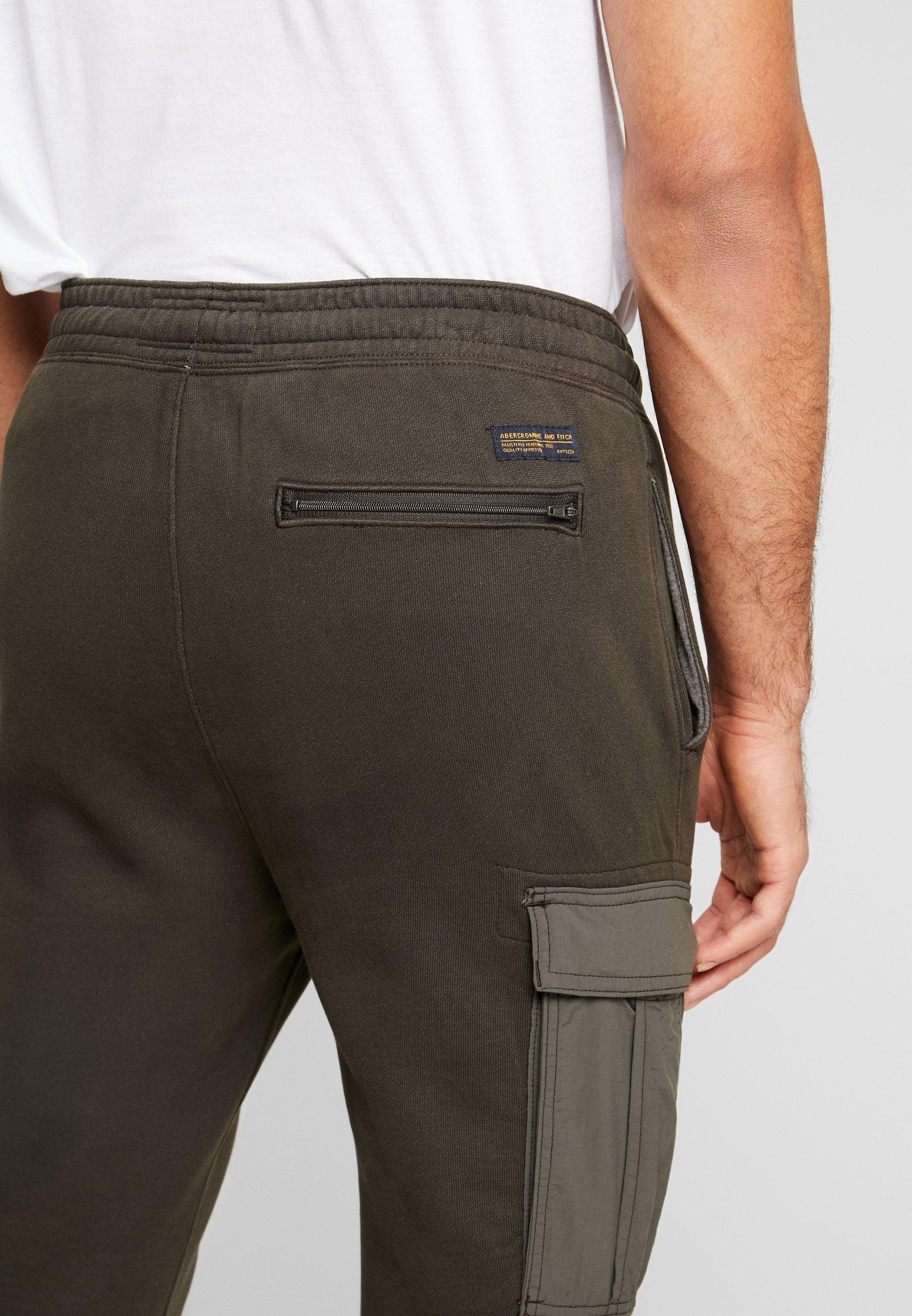 Abercrombie & Fitch Pantalon de survêtement - black olive