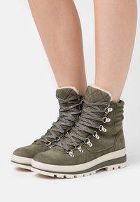 Tamaris - Winter boots - olive - 0