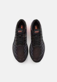 ASICS - DYNABLAST - Neutral running shoes - black/marigold orange - 3