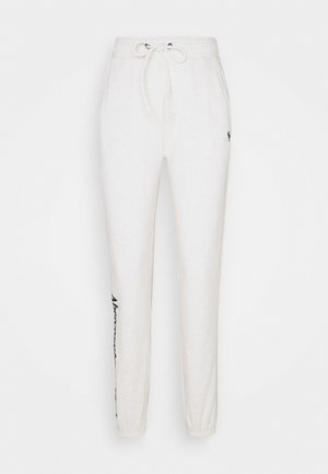 LOGO BANDED  - Tracksuit bottoms - light grey