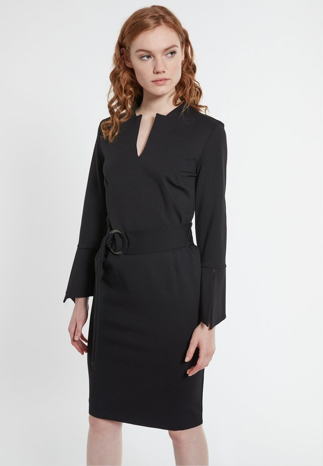 BEDEA - Shift dress - schwarz