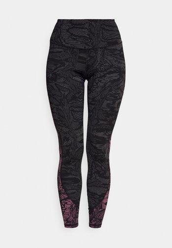 RUSH LEGGING NOVELTY - Leggings - black/iridescent