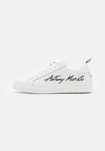 SCREEN IN AND GLOSSY LOGO SILK PRINTED - Trainers - white